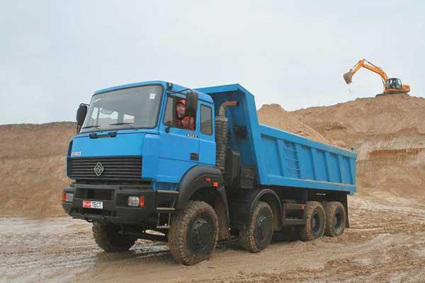 Трансмиссия, карданная передача, мосты самосвала Урал-6563