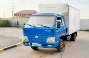 Общее описание грузовика BAW Fenix 1044