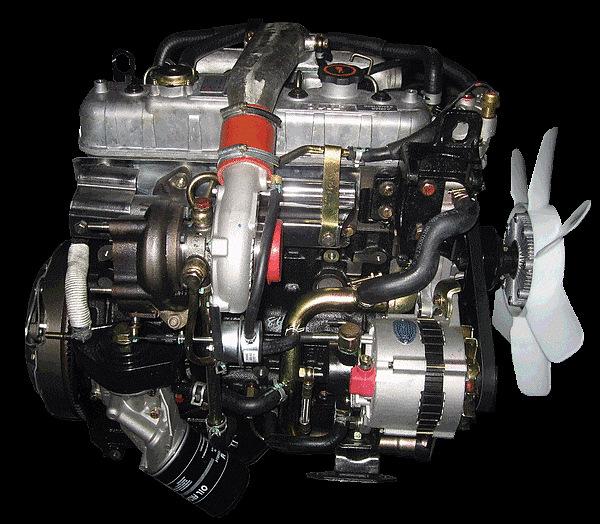 Двигатель и трансмиссия JMC 1032