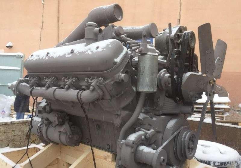 Двигатель МЗКТ-65151