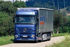 Mercedes Benz Actros 1844 LS: технические характеристики