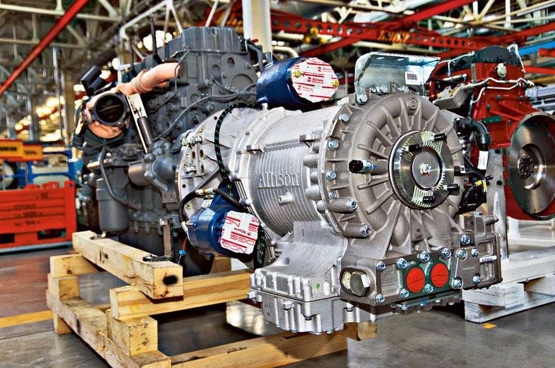 Двигатель и трансмиссия КамАЗа-Арктики