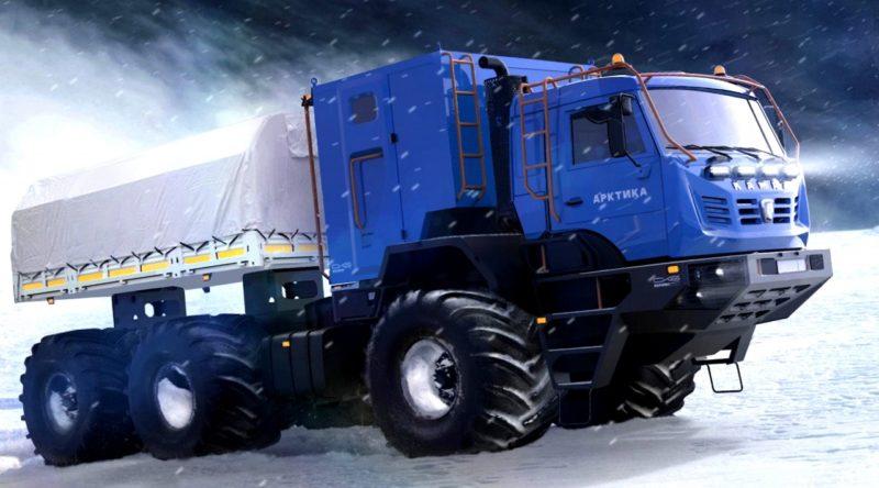 Стоимость снегоболотохода КамАЗ-Арктика