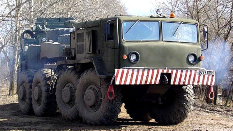 Конструкция тягача МАЗ-537