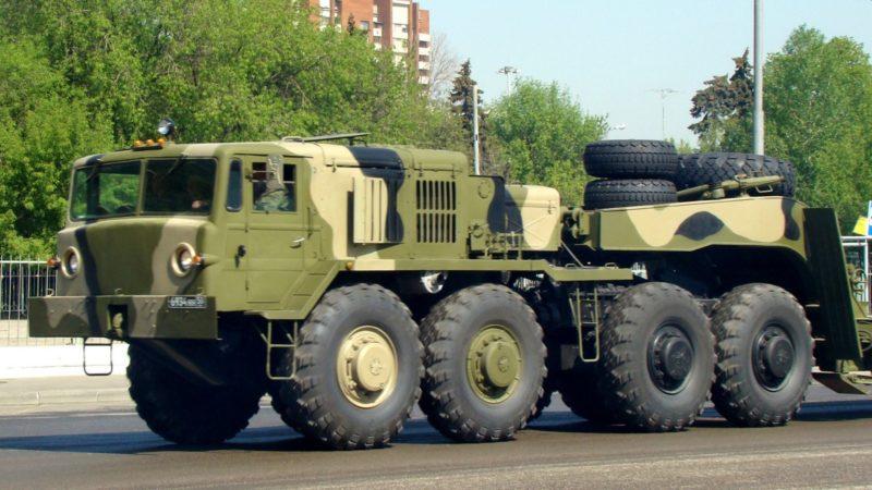 Трансмиссия и мосты тягача МАЗ-537