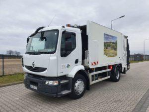 Варианты трансмиссии грузовиков Renault Midlum