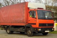 Mercedes-Benz 814: технические характеристики
