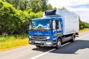 Mercedes-Benz Atego: технические характеристики