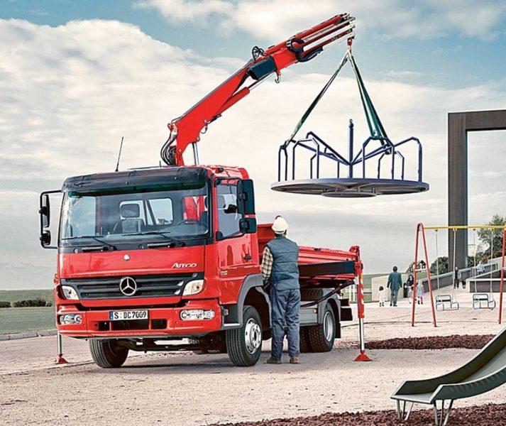 Устройство грузовика