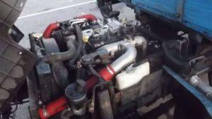 Двигатели и трансмиссия грузовиков JMC 1052