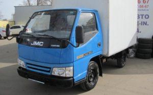 Грузовики JMC 1052: отзывы водителей и владельцев