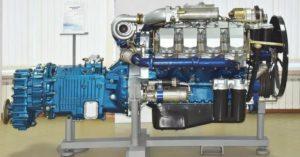 Двигатель тяжёлых грузовиков МЗКТ-7930