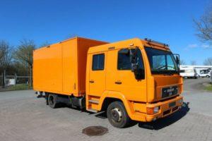 Подвеска и ходовая часть MAN L2000 / MAN LE2000