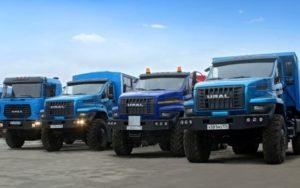 автомобили Урал модельный ряд