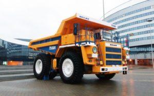 БелАЗ-75581: технические характеристики