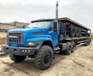 Седельный тягач Урал Некст (Урал 44202-5311-74), цена от 4 118 000 рублей
