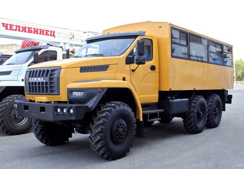 Вахтовый автобус Урал Некст (Урал 3255-5013-73), цена от 4 776 000 рублей