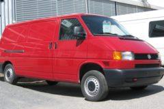 Volkswagen Transporter T4: технические характеристики