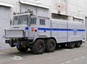 Спецавтомобиль водомётный «Лавина-Ураган» на шасси Урал-532362