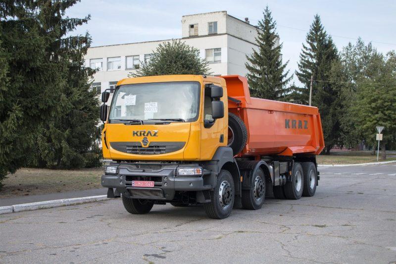 8. КрАЗ-7133С4 тип 1