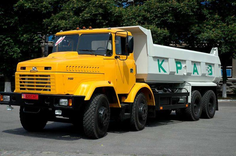9. КрАЗ-7133С4 тип 2
