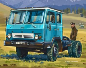 КАЗ-608 Колхида: технические характеристики-01