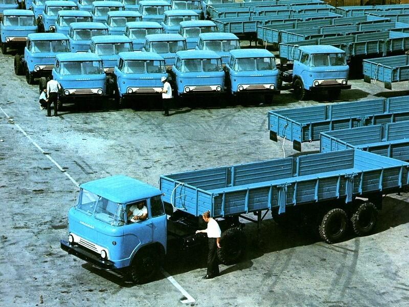 Модификации автомобиля КАЗ-608