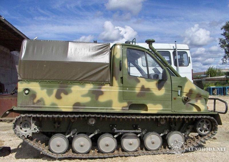 Модификации вездеходов ГАЗ-3409 «Бобр»