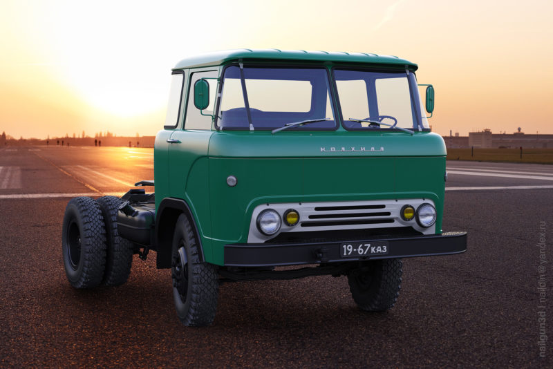 Об особенностях конструкции, отличиях от КАЗ-606-01
