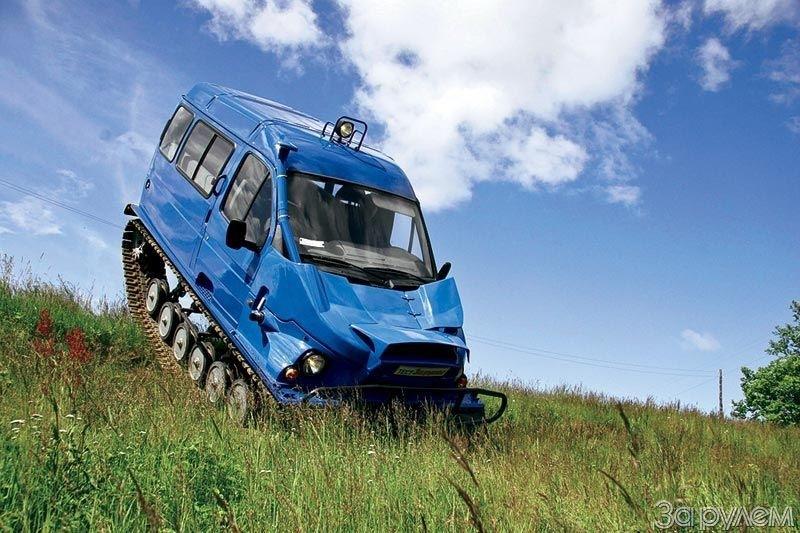 Стоимость снегоболотохода ГАЗ-3409 «Бобр»
