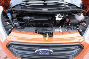 Двигатель и трансмиссия Ford Transit Custom
