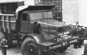 МАЗ-525. Об истории модели-01