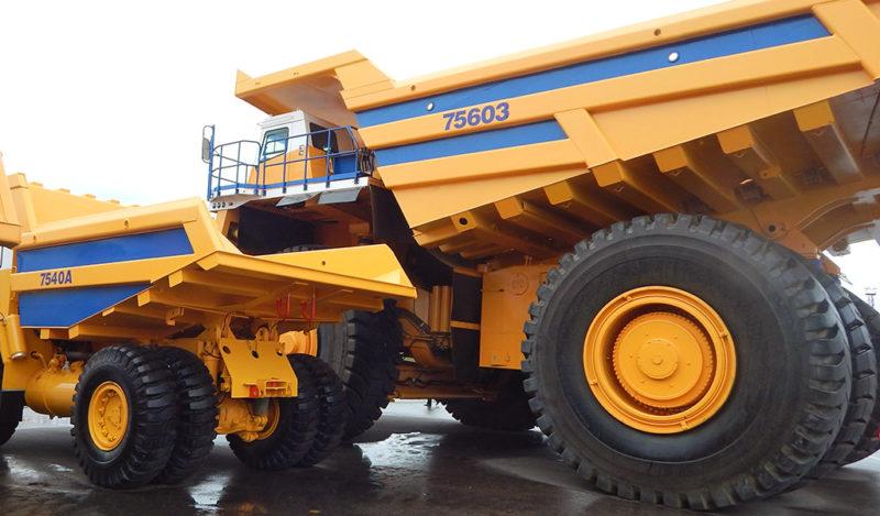 Двигатель и трансмиссия самосвала БелАЗ-75600