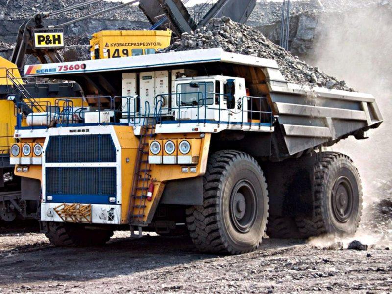 Как делают такие крупные грузовики, как БелАЗ-75600