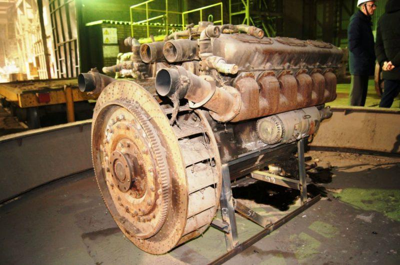 Танковый дизельный двигатель В-58-7