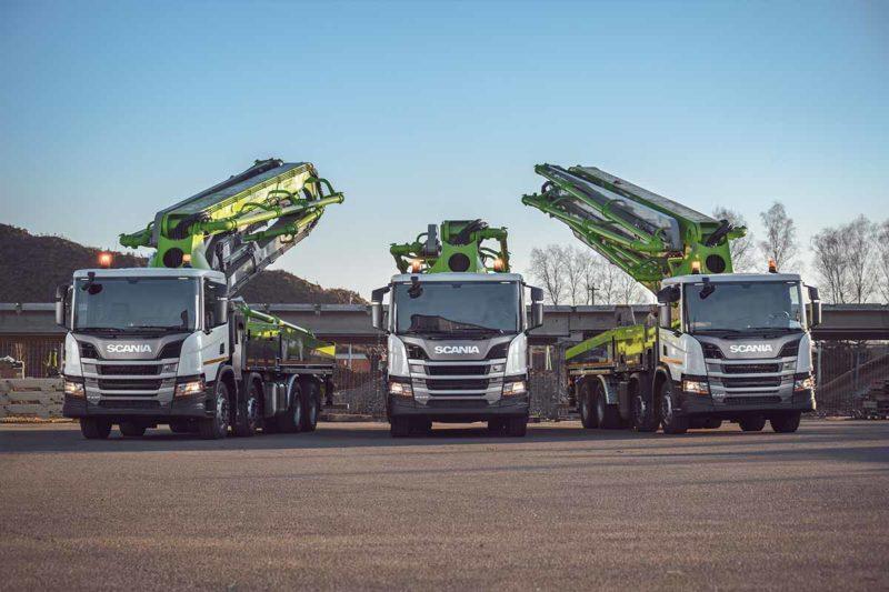 Готовые спецавтомобили Scania