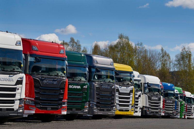 Грузовики Scania: модельный ряд-02