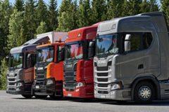 Грузовики Scania: модельный ряд
